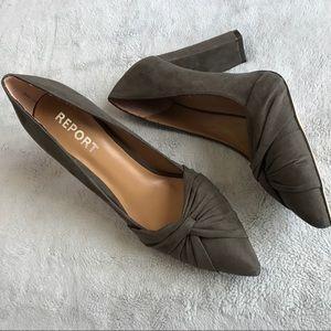 Report Shoes Yachel Dress Pump Pointed Toe Heel